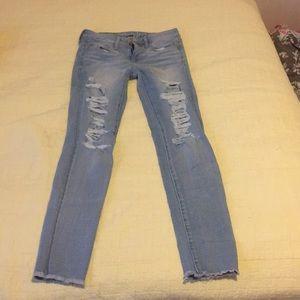 Light wash jeans!